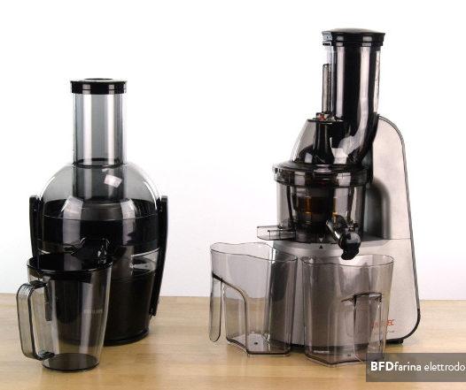 Estrattore di succo o centrifuga?