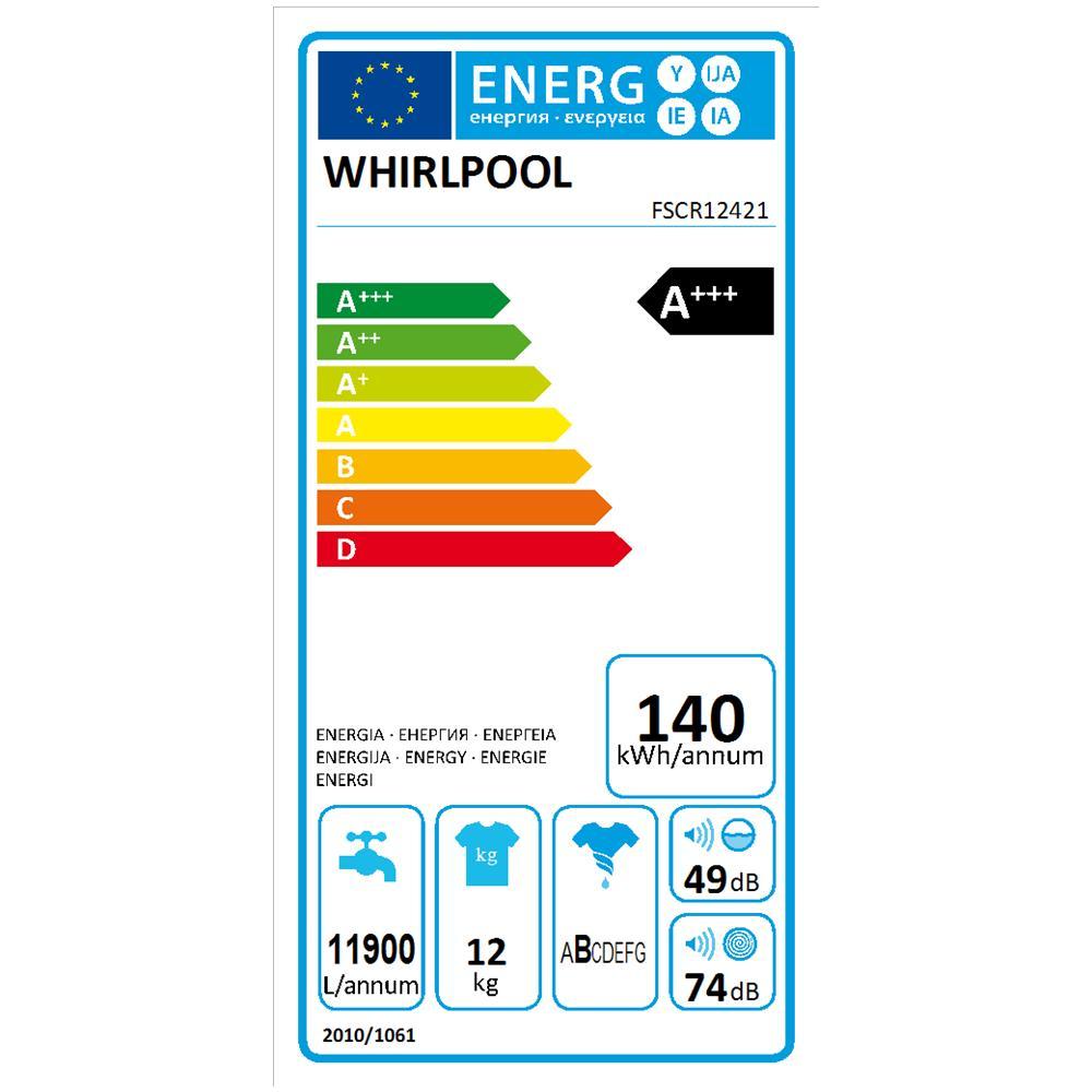 Lavatrice Standard WHIRLPOOL FSCR12421
