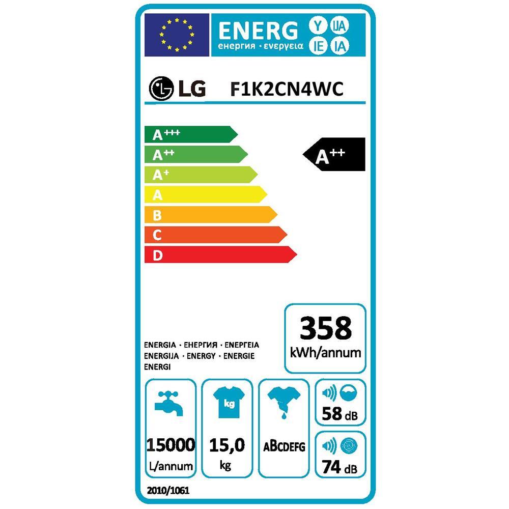 Lavatrice Standard LG F1K2CN4WC