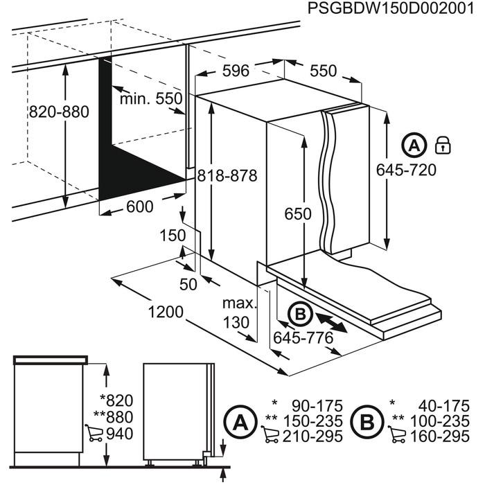 Lavastoviglie ELECTROLUX EEM48330L