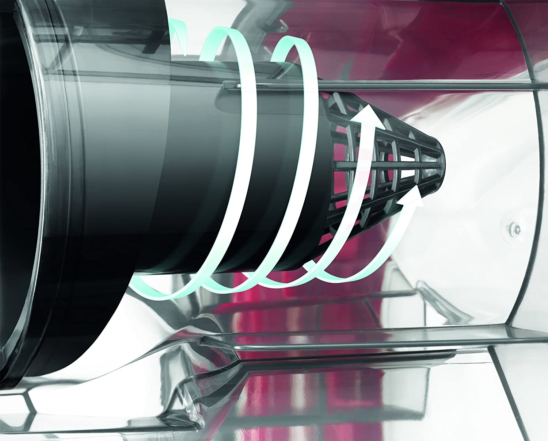 Electrolux EAPC51IS Aspirapolvere Senza Sacco Aeroperformer Cyclonic, Hygiene Filter 10, 600 W, 1.1 Litri, 80 Decibel, Blu [Classe di efficienza energetica A]