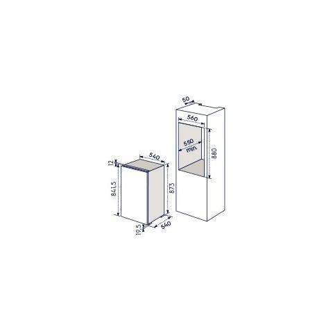 Congelatore ELECTROLUX EUN1000AOW da Incasso