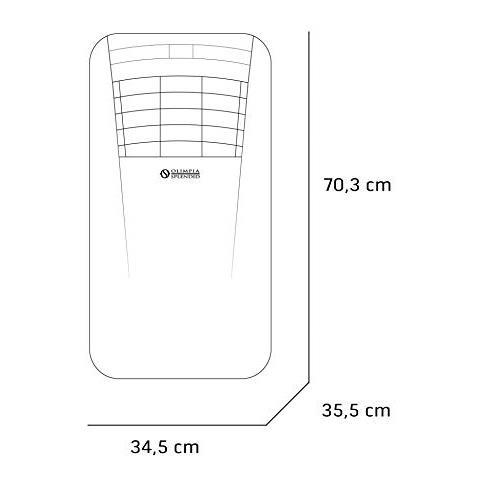 Condizionatore Portatile Monoblocco OLIMPIA SPLENDID Dolceclima Compact 9