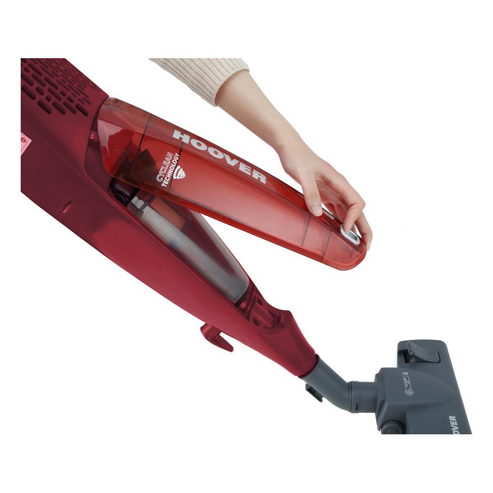 HOOVER SR71 SB03 Scopa Elettrica senza Sacco Potenza 700 Watt Colore Rosso